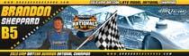 Graphic Design Inscrição do Concurso Nº49 para Design a Banner for Brandon Sheppard Racing