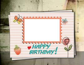 #54 for Design some Stationery for Childs Birthday Photo Card by five55555