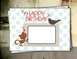 five55555 tarafından Design some Stationery for Childs Birthday Photo Card için no 55