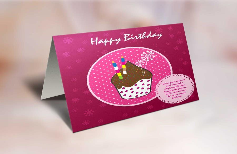 #36 for Design some Stationery for Childs Birthday Photo Card by shyRosely
