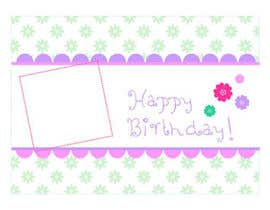 #76 for Design some Stationery for Childs Birthday Photo Card by primavaradin07