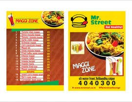 #36 for Design a Banner for MAGGI ZONE MENU by ajdezignz