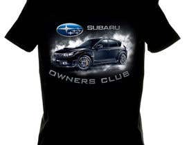 #15 para Subaru Owners Club T-Shirt Design por emayan