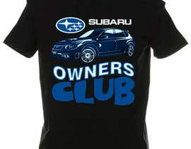 #16 para Subaru Owners Club T-Shirt Design por emayan