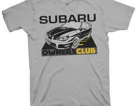 #7 cho Subaru Owners Club T-Shirt Design bởi mckirbz