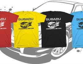 #10 para Subaru Owners Club T-Shirt Design por mckirbz