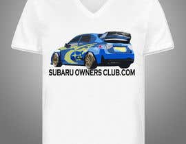 #11 para Subaru Owners Club T-Shirt Design por BLePister