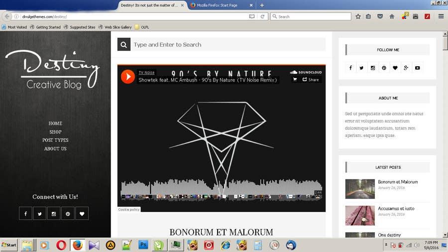 Natečajni vnos #10 za Logo Design for a blog