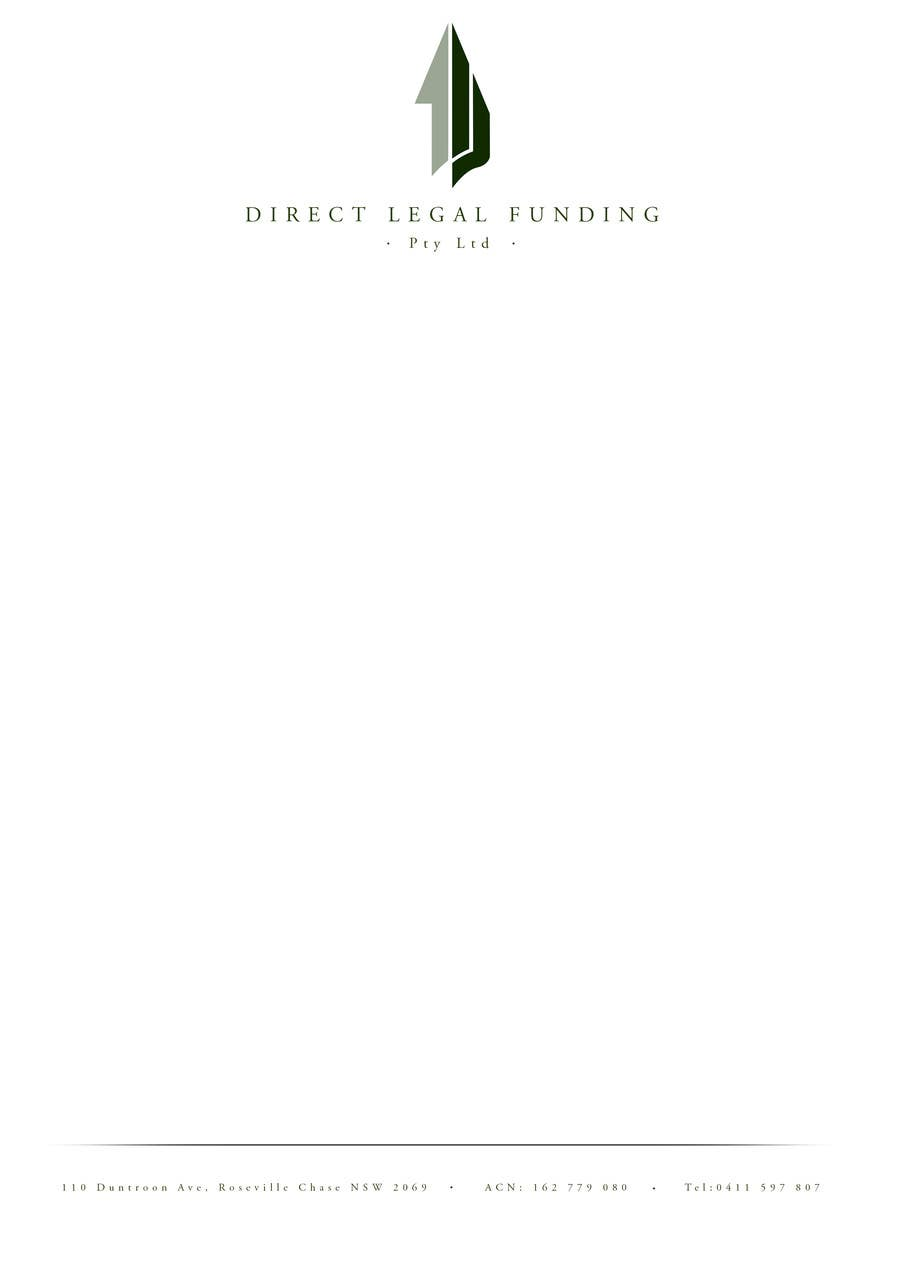 #25 for Design a Logo for Direct Legal Funding Pty Ltd by paulbateman93