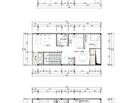 #10 dla House Plan for a small space: Ground Floor + 2 floors przez Quay3010