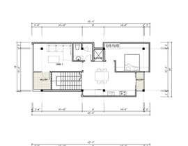 #28 dla House Plan for a small space: Ground Floor + 2 floors przez Quay3010