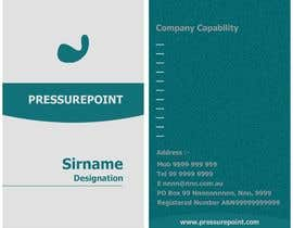 #104 for Business Card Design for Pressurepoint af DesignerParvez
