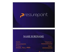 #44 for Business Card Design for Pressurepoint by herisetiawan