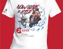 #15 dla Design a T-Shirt for our 2eyes action camera project przez IrenaKocic