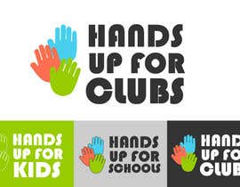 nº 152 pour Design a Logo for Hands Up for Clubs par hayleym91