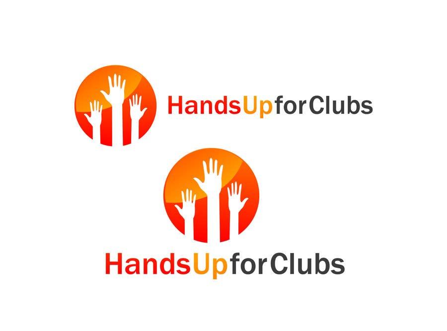 Inscrição nº 91 do Concurso para Design a Logo for Hands Up for Clubs