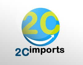 #424 cho Logo Design for 2C imports bởi bhetzkie
