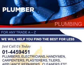 #5 para design 3 a5 leaflets for tradesmen such as plumbers por cronie
