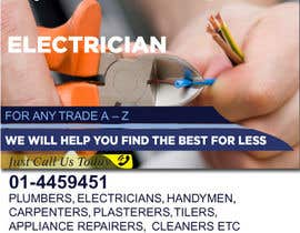 #6 para design 3 a5 leaflets for tradesmen such as plumbers por cronie