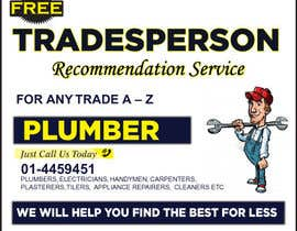 #10 para design 3 a5 leaflets for tradesmen such as plumbers por cronie