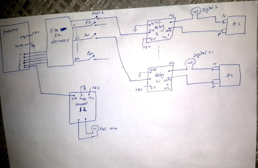 Entry #2 by rbj11 for Home automation using Arduino Mega