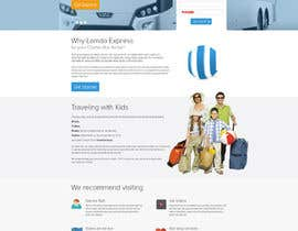#10 para Design a Website and inside pages Mockup and Logo for Bus Rental Company por geniedesignssl