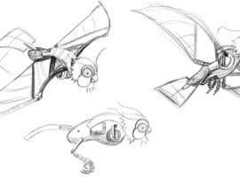 #13 para Robotic Bubo Ornithopter Design de bulletirde