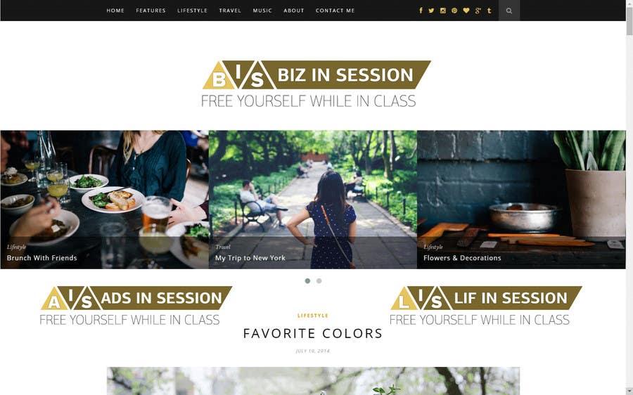 Participación en el concurso Nro.182 para Develop a Brand Identity for a website
