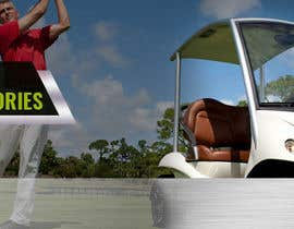 #10 for Design 1 banner for a2zgolfcartsupplies by AxusDesign