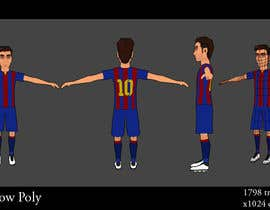 #5 para Low Poly Leo Messi de bakill15