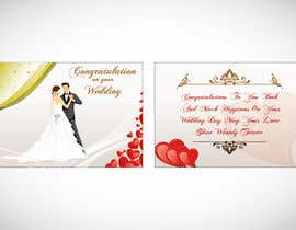 #2 para Design some Stationery for a Wedding Greeting Card por Arts360
