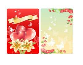 nº 4 pour Design some Stationery for a Wedding Greeting Card par poojark