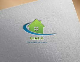#35 para REALX - Real estate brand Logo for new investors group de husainmill
