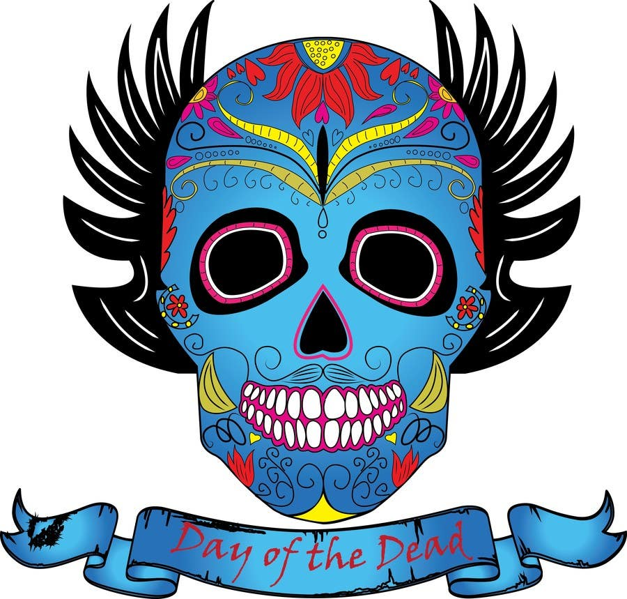 #29 for Design a T-Shirt for day of the dead by haftech