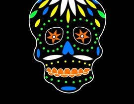 #18 para Design a T-Shirt for day of the dead por CDSpringer