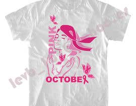 #116 untuk Design a T-Shirt for Breast Cancer Month oleh leninvallejos