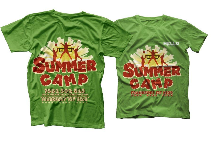 Contest Entry #                                        40                                      for                                         Kids Summer Camp T shirt design