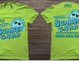#68 for Kids Summer Camp T shirt design by czsidou