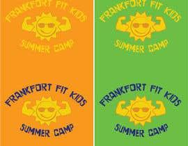 allisoNthegray tarafından Kids Summer Camp T shirt design için no 20