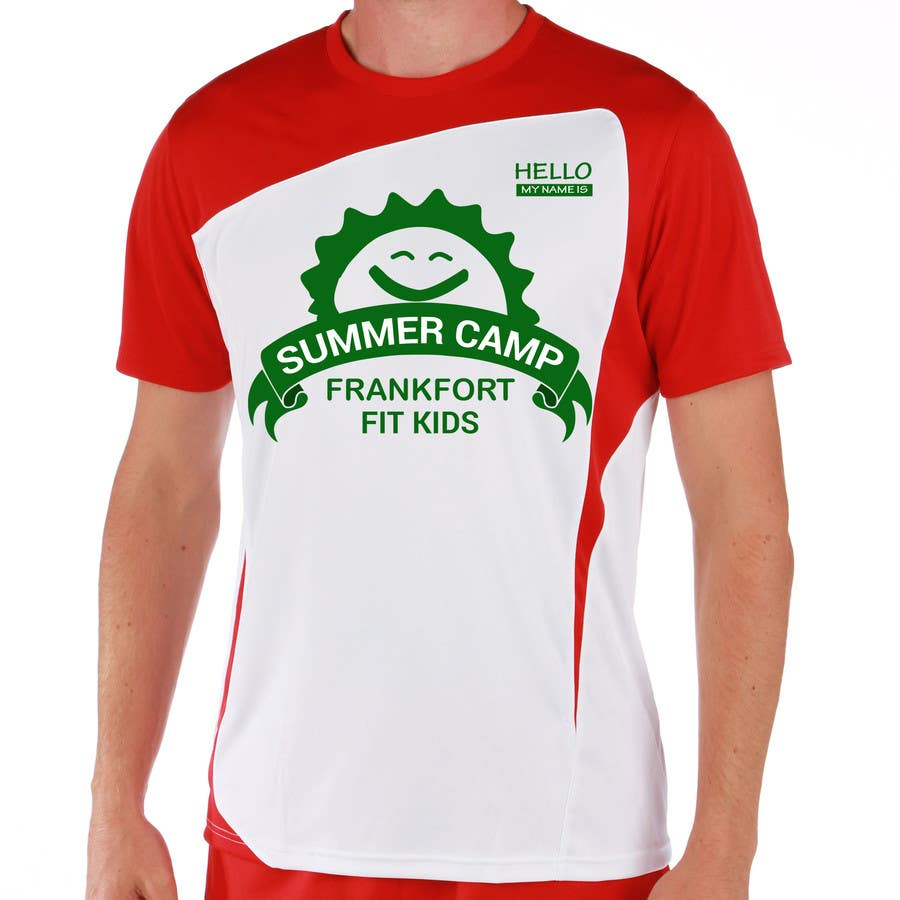Entry 33 By Arrahman01 For Kids Summer Camp T Shirt Design Freelancer