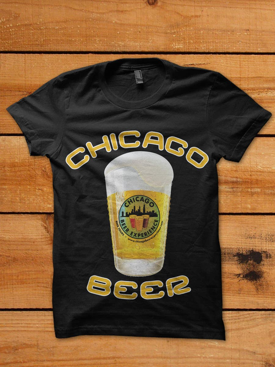Bài tham dự cuộc thi #23 cho Design a T-Shirt for Chicago Beer Experience Beer Tours