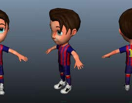 #29 for 3D Character design for Mobile Soccer Game App by dcjoshi75