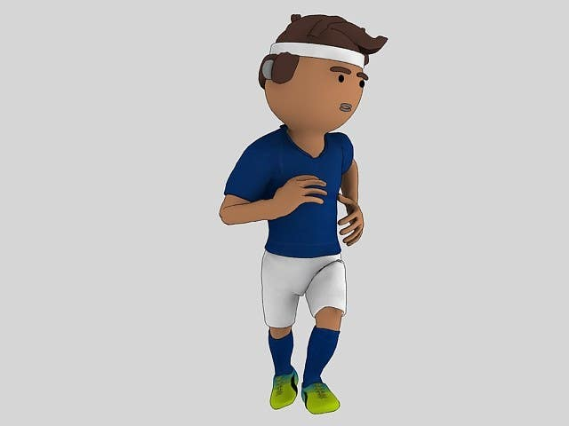 Game Character Design Apps : Entry #1 by mastertob for 3d character design for mobile soccer game