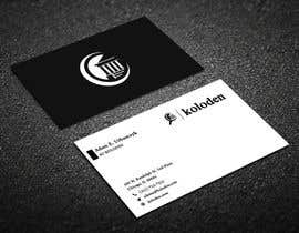 #111 para Design some Business Cards de Warna86