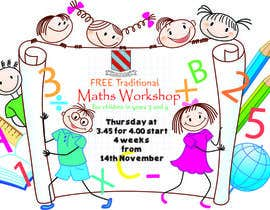 nº 2 pour Design a Flyer for a School Maths Workshop par mdshahidullah609