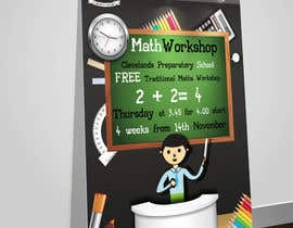 nº 35 pour Design a Flyer for a School Maths Workshop par Artimization
