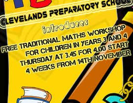 #9 para Design a Flyer for a School Maths Workshop por akshaya1991