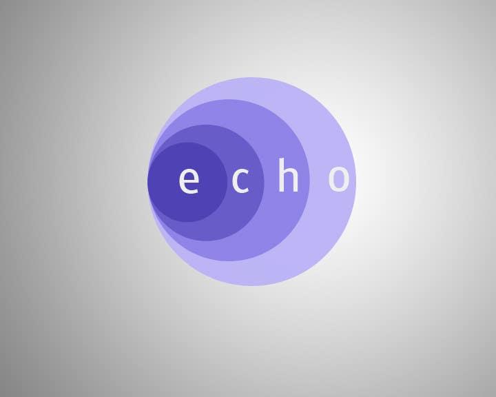 #74 for Design a Logo for Echo or Echo Alert by durgeshraj99