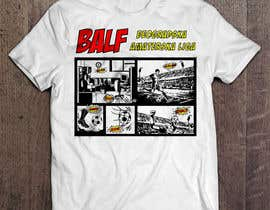 #15 para Design a T-Shirt BALF por qwasoff