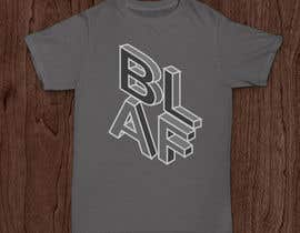 #9 for Design a T-Shirt BALF by boki9091